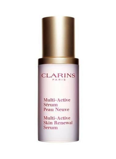 Clarins Multi Active Skin Renewal Serum 30 ml Renkli